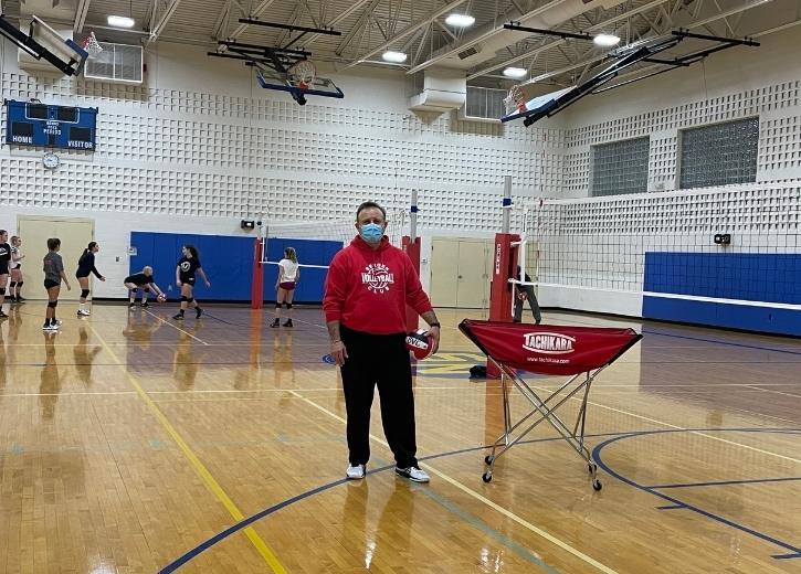 Coach Carlos at Bergen Volleyball Academy