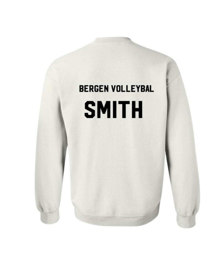 Sweater Back Bergen Volleyball