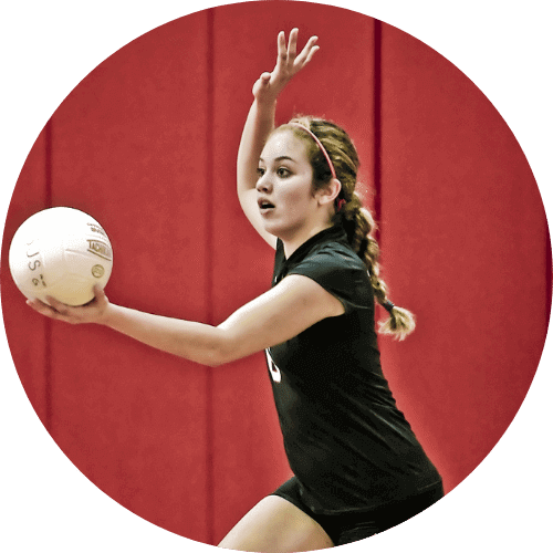 Volleyball Camp Block Overhand Service Hand-Eye-Feet coordination