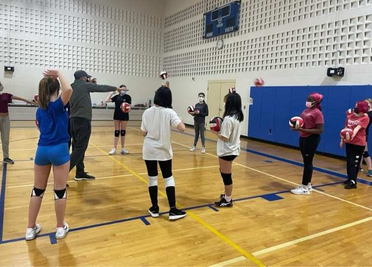 Volleyball Classes at Bergen Volleyball Club