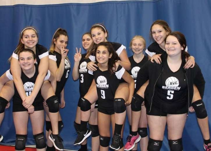 Volleyball Club Teams at Bergen County