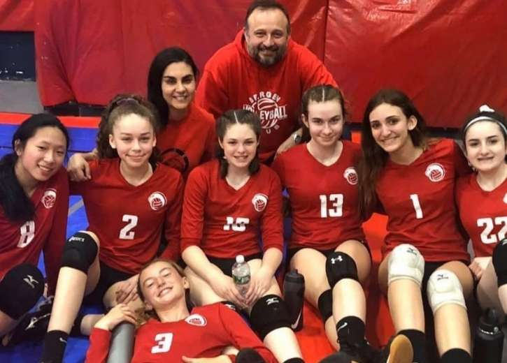 Volleyball Club Teams at Bergen Volleyball Club, Bergen County